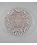 Depression Glass Anchor Hocking Moonstone Pink Hobnail Luncheon Plate - ... - $10.95