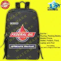 1 MOTO2 FEDERAL OIL GRESINI MOTO2 Backpack Bags - $45.00