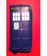 Doctor Who Blue Tardis Zip Around Wallet— More Character Wallets Availab... - $16.47