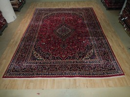 Durable Oriental Hand Knotted Traditional Rug 10x13 Persian Kashan Carpe... - $943.30