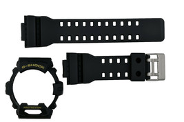 Casio G-Shock G-8900-1 original Watch Band & BEZEL RUBBER Black  G8900-1 - $50.45