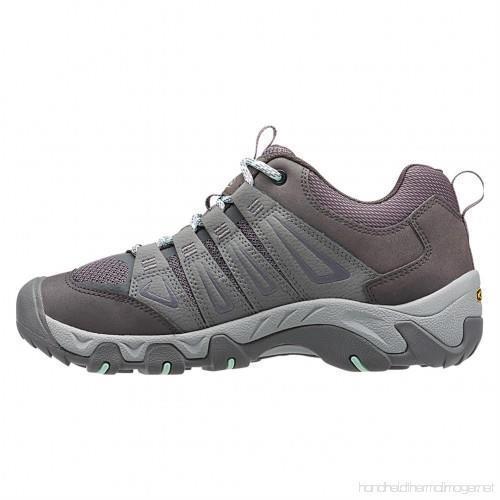 Keen Oakridge Gray/Clear Aqua Women's Hiking Shoes Sz 8 M ***New*** image 2