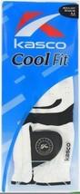 Kasco HERREN Cool Passform Weiß Golfhandschuh - $13.15