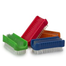 nail brush splash plastic double-sided colour may vary - $2.07+