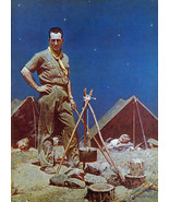 The Scoutmaster 22x30 Boy Scout Art Print by Norman Rockwell - $64.33