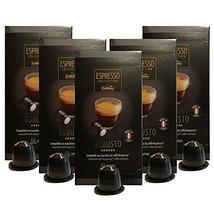 Caffitaly Nespresso Compatible Capsules, Robusto Espresso, Extra Bold, 5... - $29.03
