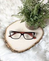 Kate Spade Felicia Eyeglasses Frames 01W1 Striped Tortoise Burgundy Purple  - $35.50