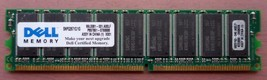 SNPG2671C/1G 1GB DDR PC3200 400MHZ 184 pin DIMM ECC LOW DENSITY - $23.49