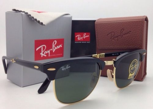 e22669a739740 New RAY-BAN CLUBMASTER Folding Sunglasses RB and 50 similar items. 12