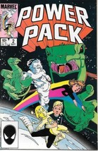 Power Pack Comic Book #2 Marvel 1984 VERY FINE+ NEW UNREAD - $2.50