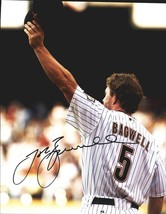 Jeff Bagwell authentic signed baseball 11X14 photo W/Cert Autographed A0009 - $109.95