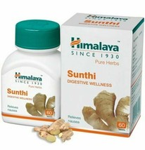 Himalaya Sunthi (Zingiber officinale) Wellness 60 Tablets Herbal Product - $14.84+