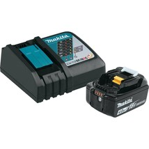 Makita Power Tool Battery Pack 4.0Ah 18-Volt Lithium-Ion Cordless Black - $156.45