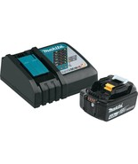 Makita Power Tool Battery Pack 4.0Ah 18-Volt Lithium-Ion Cordless Black - $156.45