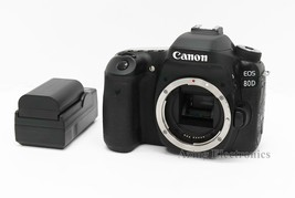 Canon EOS 80D 24.2MP Digital SLR Camera - Black (Body Only) - $629.99