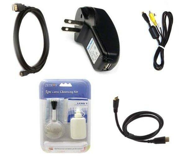 USB + AV Video + Hdmi +Charger for Olympus TG-3 TG-625 TG-630 TG-830 TG-835 XZ-2 - $20.69
