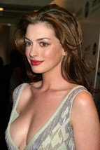 Anne Hathaway Striking Busty Cleavage Sexy Pose 18x24 Poster - $23.99