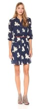 ECI New York Women's Embroidery Shirt Dress NEW BLUE SIZE 4 - $20.79