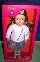"""Our Generation Vienna 18"""" Doll New - $39.11"""
