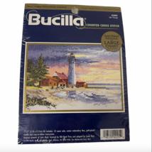 Bucilla 1998 Counted Cross Stitch Sealed Kit Safe Passage #42005 NIP New Sealed - $10.99