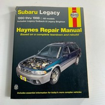 Haynes Repair Manual Subaru Legacy 89100 1990 Thru 1998  - $11.88