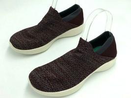 NEW Skechers Womens 6 You Walk Burgundy Knit Slip On Shoes 14951 - $26.99