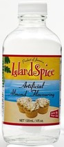 Island Spice Artificial Almond Flavoring 4oz (pack of 6) - $22.99