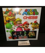 Super Mario chess Collector's Edition sealed Nintendo official features ... - $66.68