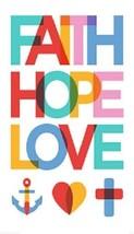 Faith Hope Love Magnet #2 - $7.99