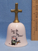 Vintage 1983 Dear God Kids Bell by Intercontinental Licensee Enesco - $10.84
