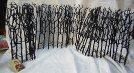Bethany Lowe Halloween Spooky Haunted  Twig or Snowy Winter Fence - $23.99
