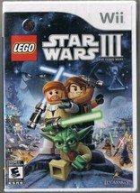 Wii Lego Star Wars III Game Brand New Factory Sealed - $32.05 CAD