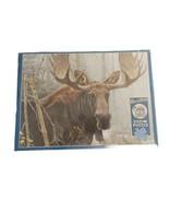 Robert Bateman Cobble Hill Bull Moose 500 Pc Jigsaw Puzzle New - $28.50