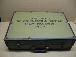WWII Re-Orientating Device, Item # 96191 Case Number 2 auxiliary X-Ray E... - $399.95