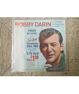 BOBBY DARIN 45 RPM - EP VINYL RECORD IN PICTURE SLEEVE - 4 SONGS - $14.00