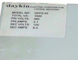 DAYKIN GPFS-05 TRANSFORMER DISCONNECT GPFS05 image 4