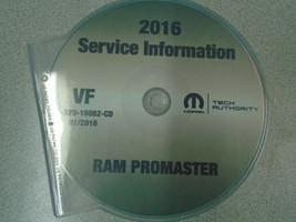 2016 Dodge RAM ProMaster Service Shop Repair Workshop Manual CD DVD NEW - $197.99
