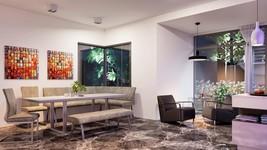 VIG Modrest Monty & Zane Modern Dining Set w/Benches  5 Pcs Contemporary