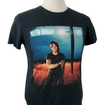 Keith Urban Fuse Concert Tour T-Shirt Small S/S Crew Double Sided Countr... - $14.99