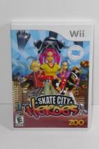 Skate City Heroes (Nintendo Wii, 2008) COMPLETE - $4.99