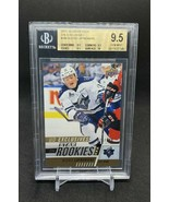 17-18 UPPER DECK CHL ALEXIS LAFRENIERE STAR ROOKIES EXCLUSIVES /100 BGS ... - $17,820.00