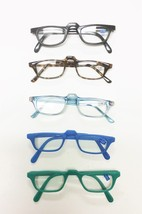 Colorful High Bridge Light Reading Glasses 6 colors +1.25 to +4.00 - $5.45