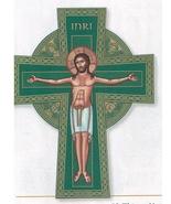 "Celtic Icon Crucifix - 14"" Wall cross - $76.95"