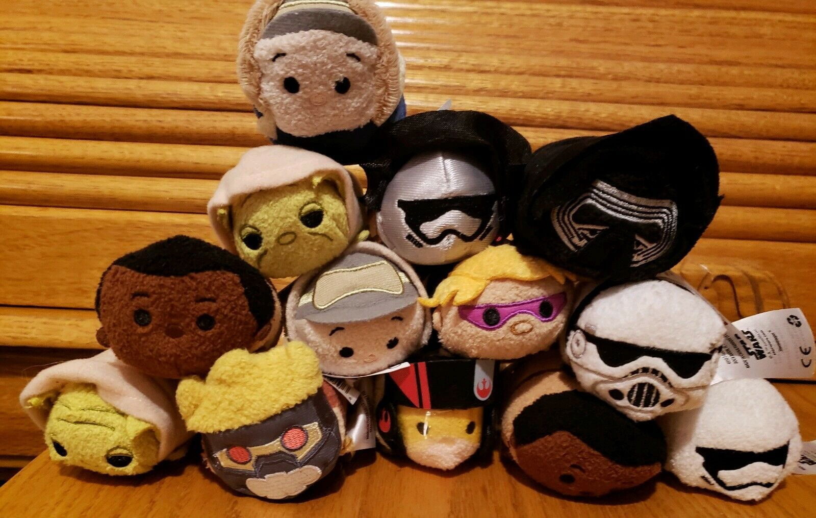 Tsum tsum mini plush lot Star Wars/disney/marvel Lot Of 13 all new w/tags
