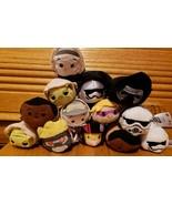 Tsum tsum mini plush lot Star Wars/disney/marvel Lot Of 13 all new w/tags - $28.22