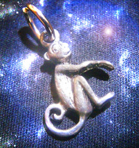 HAUNTED MONKEY LUCK CHARM RISE AND ELEVATE ALL LUCK ENERGIES RARE OOAK M... - $8,997.77