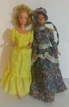 Vintage Barbie Doll Lot 1966 BlondeYellow Bohemian Dress and Twist and Turn - $6.90