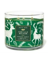 Bath & Body Works Vanilla Balsam 3 Wick Scented Candle 14.5 oz - $27.10