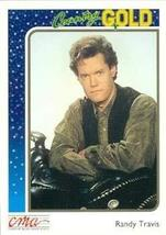 Randy Travis trading card (Country Music) 1992 Sterling Country Gold #30 - $5.00