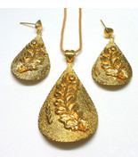 Indian Traditional  Bollywood Gold Plated Royal Chain Necklaces Jewelry ... - $15.29